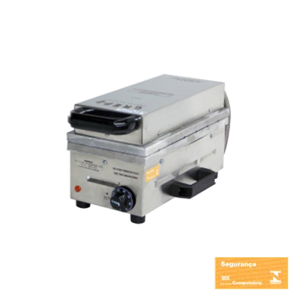 Máquina de Crepe Suiço Profissional Ademaq 6 Cavidades 110 V