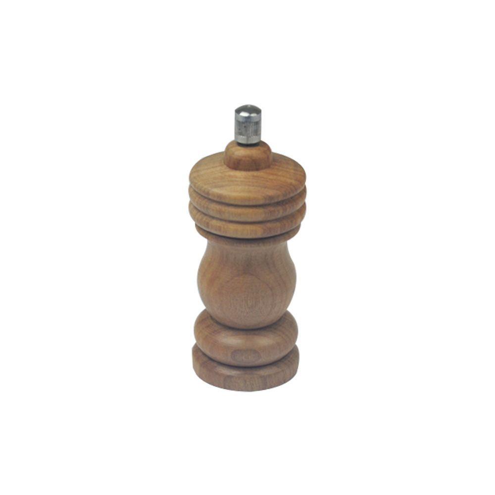 Moedor de Pimenta e Sal 14 cm Pequeno em Madeira