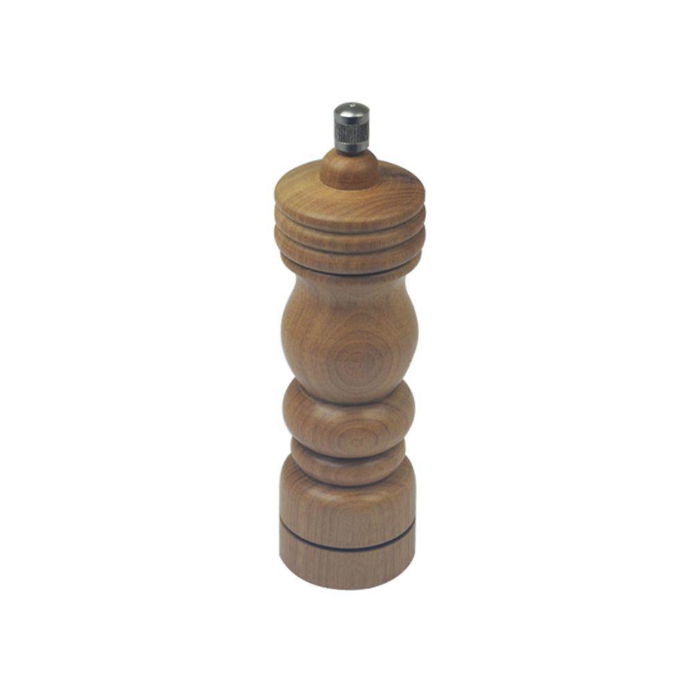 Moedor de Pimenta e Sal 20 cm Médio em Madeira