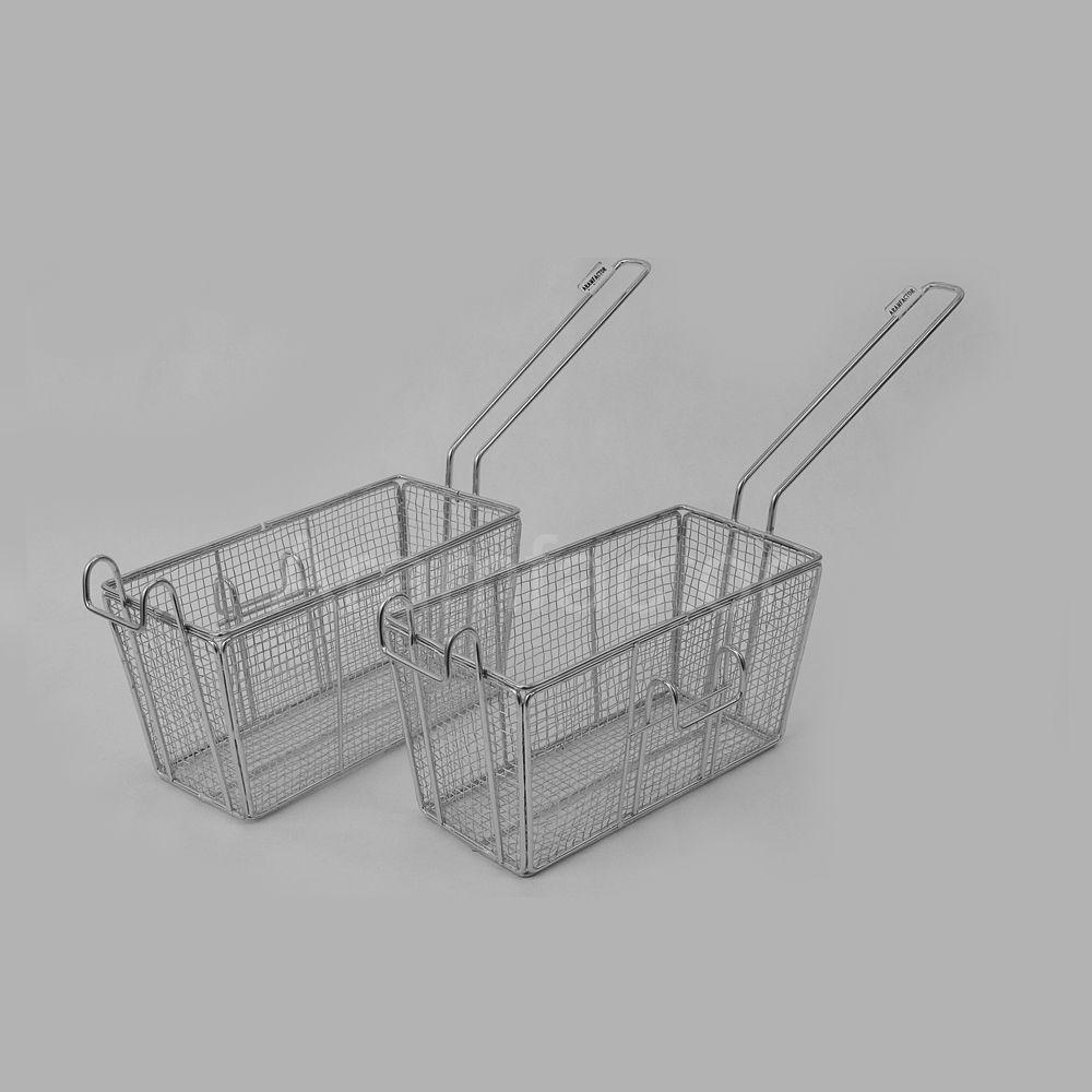 Peneira para Fritura Retangular 20x10 cm Lado Esquerdo Aramfactor