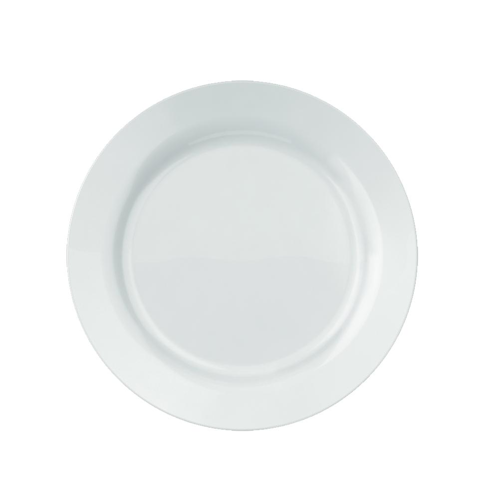 Prato Raso Duralex Versi 24 cm Branco 12 pçs Nadir Figueiredo 5753