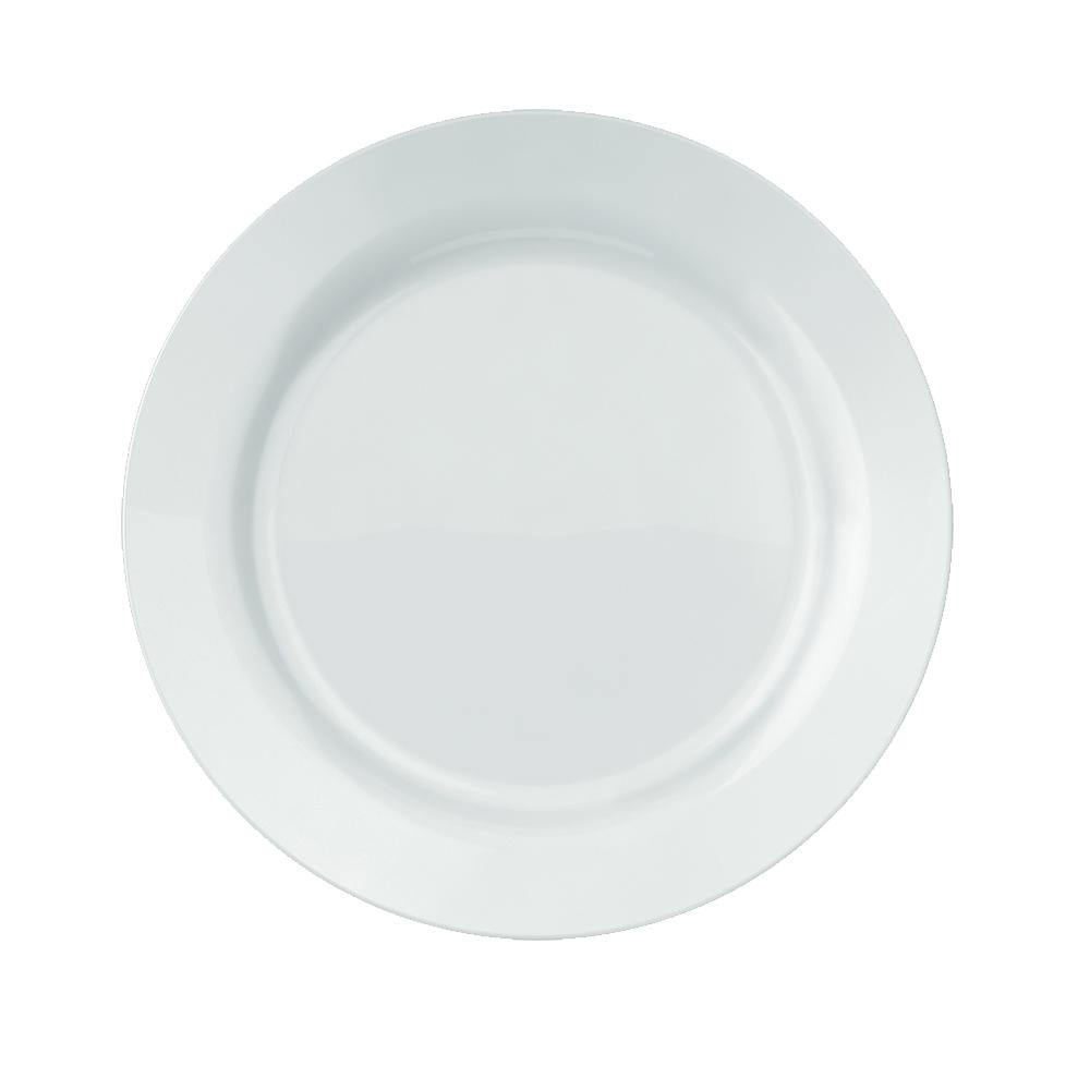 Prato Raso Duralex Versi 26 cm Branco 12 pçs Nadir Figueiredo 5553