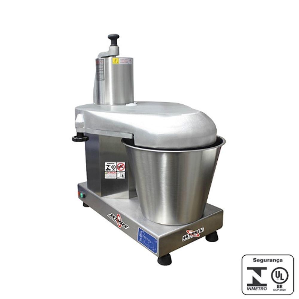 Processador Alimentos Inox com 6 Discos 429 mm Skymsen 220V