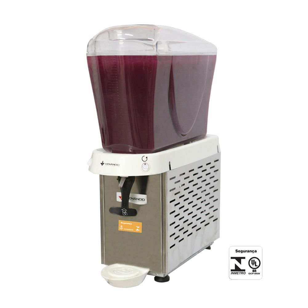 Refresqueira 1 Cubas de 16 Litros em Inox 220V Venâncio