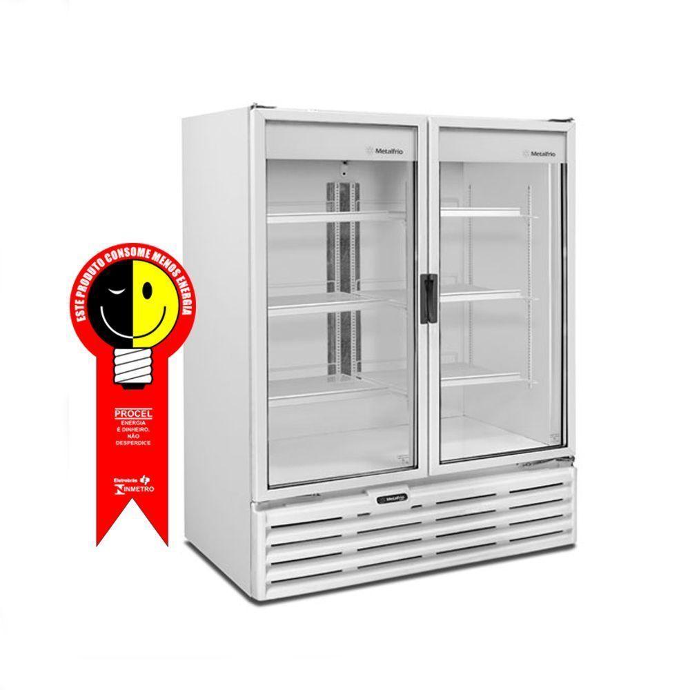 Refrigerador 2 Portas Metalfrio Vertical 1277 Litros 220V - VB99RB