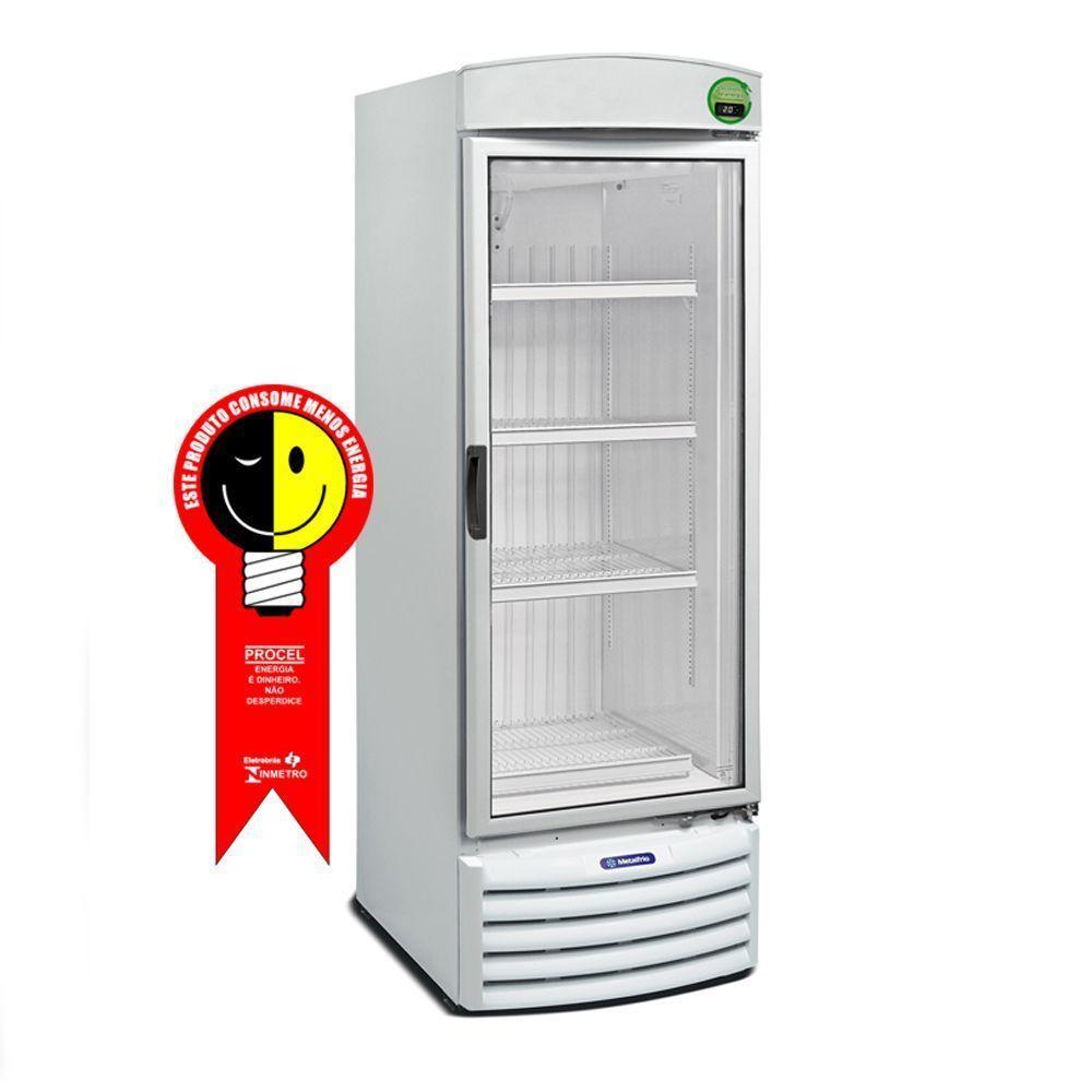 Refrigerador Metalfrio Vertical 572 Litros Porta de Vidro - 220V - VB52RE
