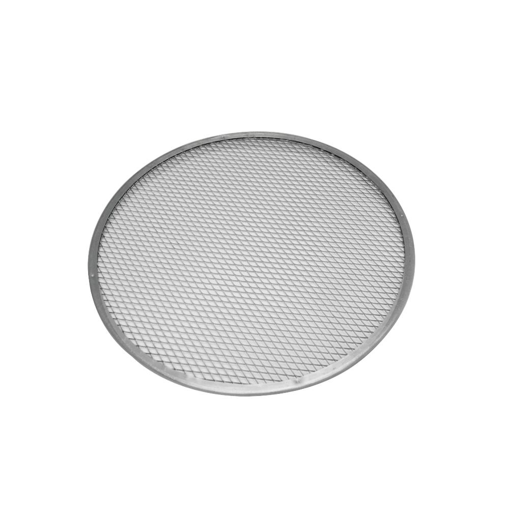 Tela Redonda para Pizza  30 cm Alumínio Doupan