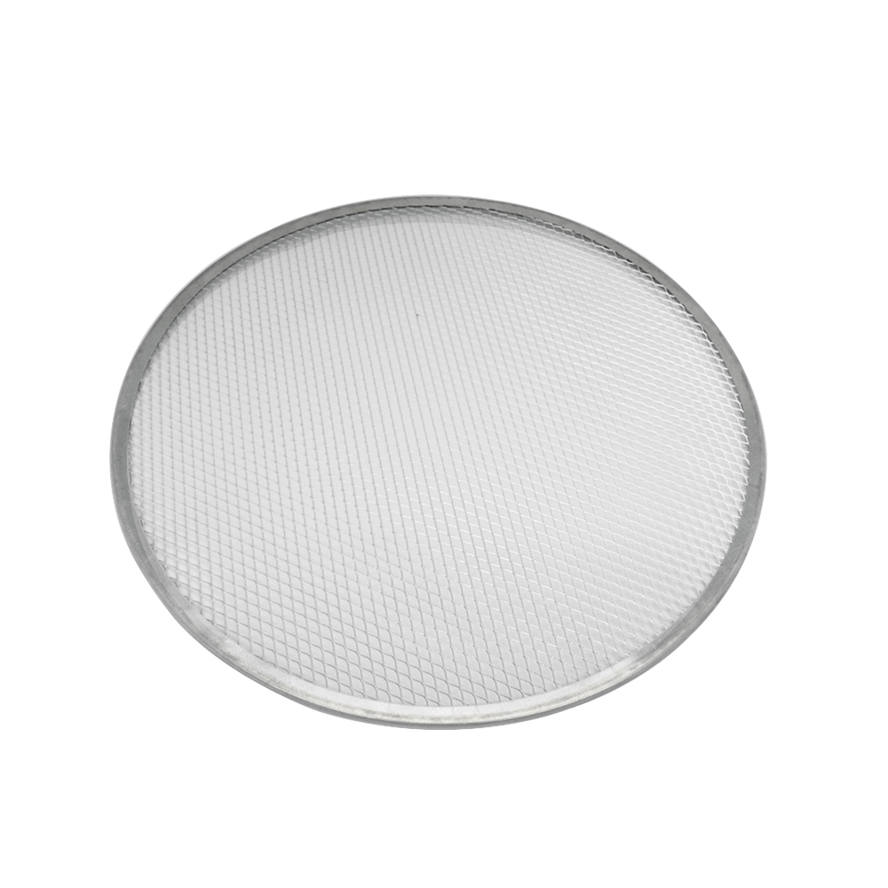 Tela Redonda para Pizza  40 cm Alumínio Doupan