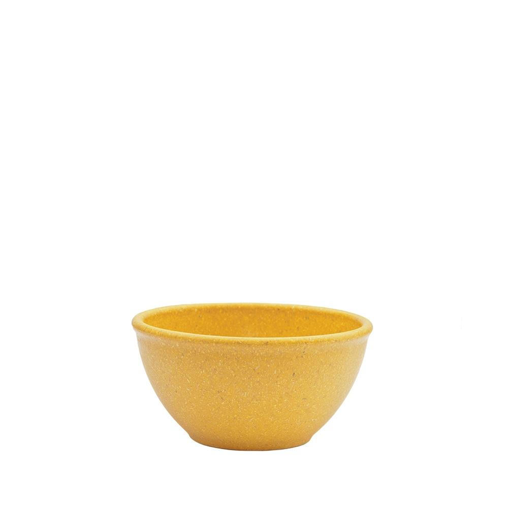 Tigela Cumbuca Bowl 300 ml Amarela WPC Produto Sustentável  - Evo