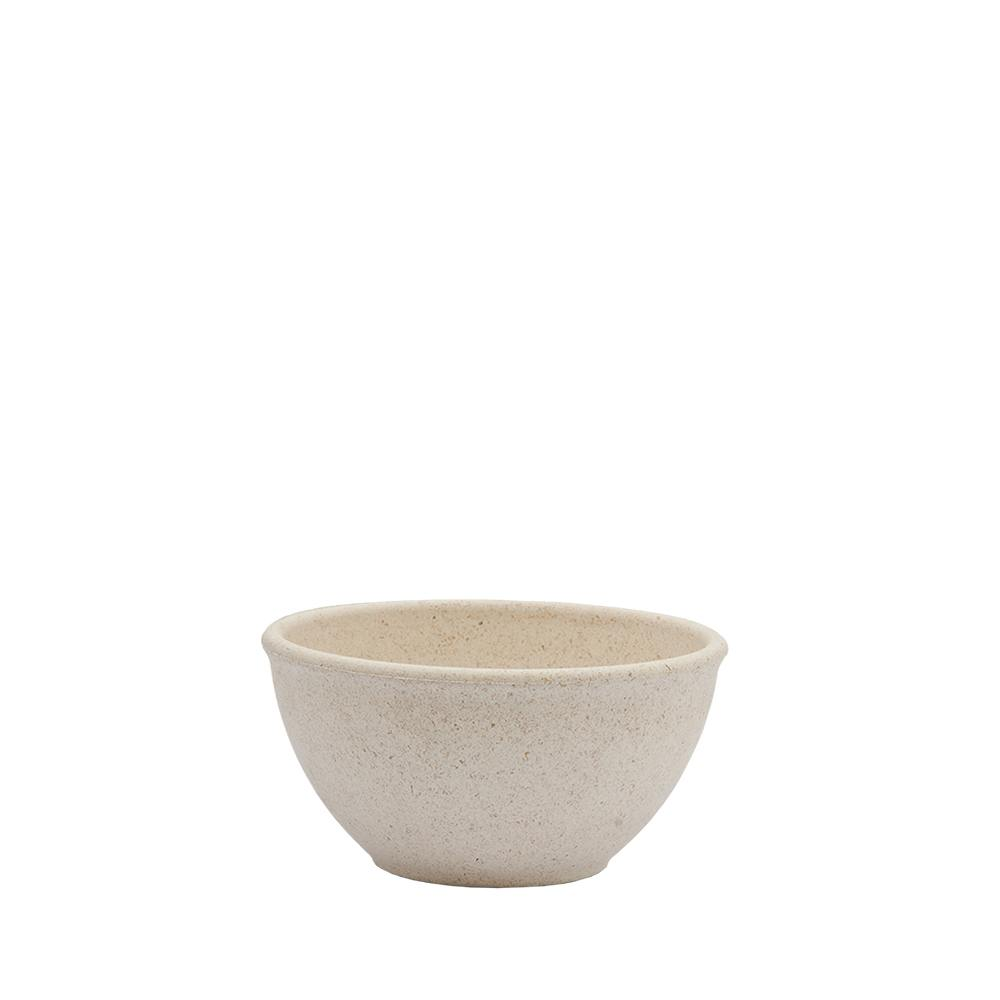 Tigela Cumbuca Bowl 300 ml Marfim WPC Produto Sustentável  - Evo