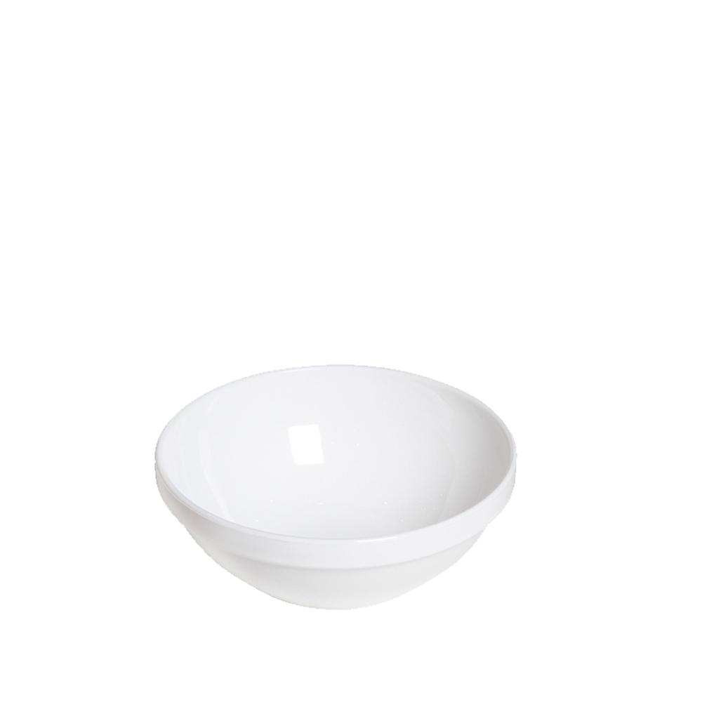 Tigela Cumbuca Bowl 350 ml Branca Polipropileno - Vemplast