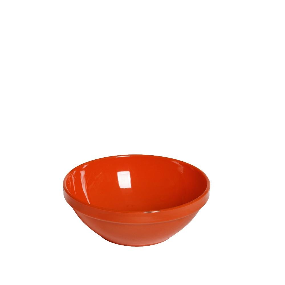 Tigela Cumbuca Bowl 350 ml Laranja Polipropileno - Vemplast