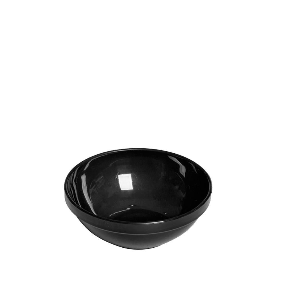 Tigela Cumbuca Bowl 350 ml Preta Polipropileno - Vemplast