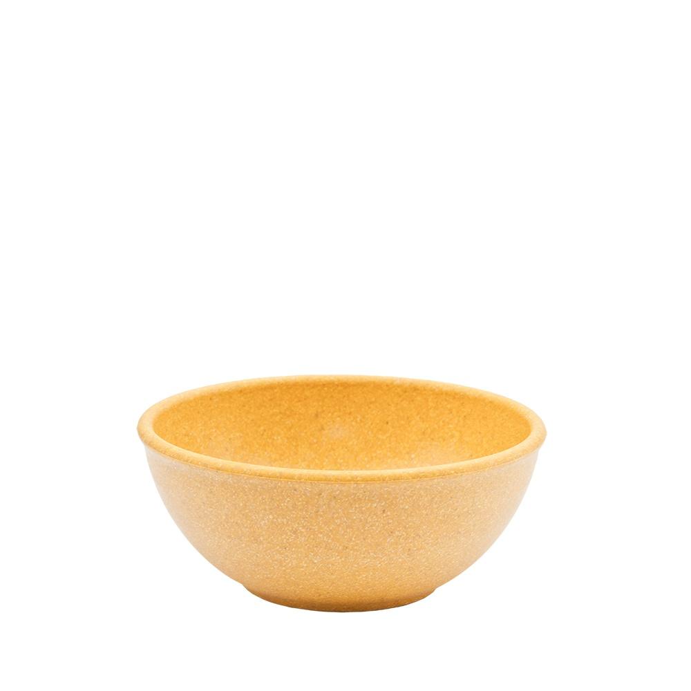 Tigela Cumbuca Bowl 500 ml Amarela WPC Produto Sustentável  - Evo