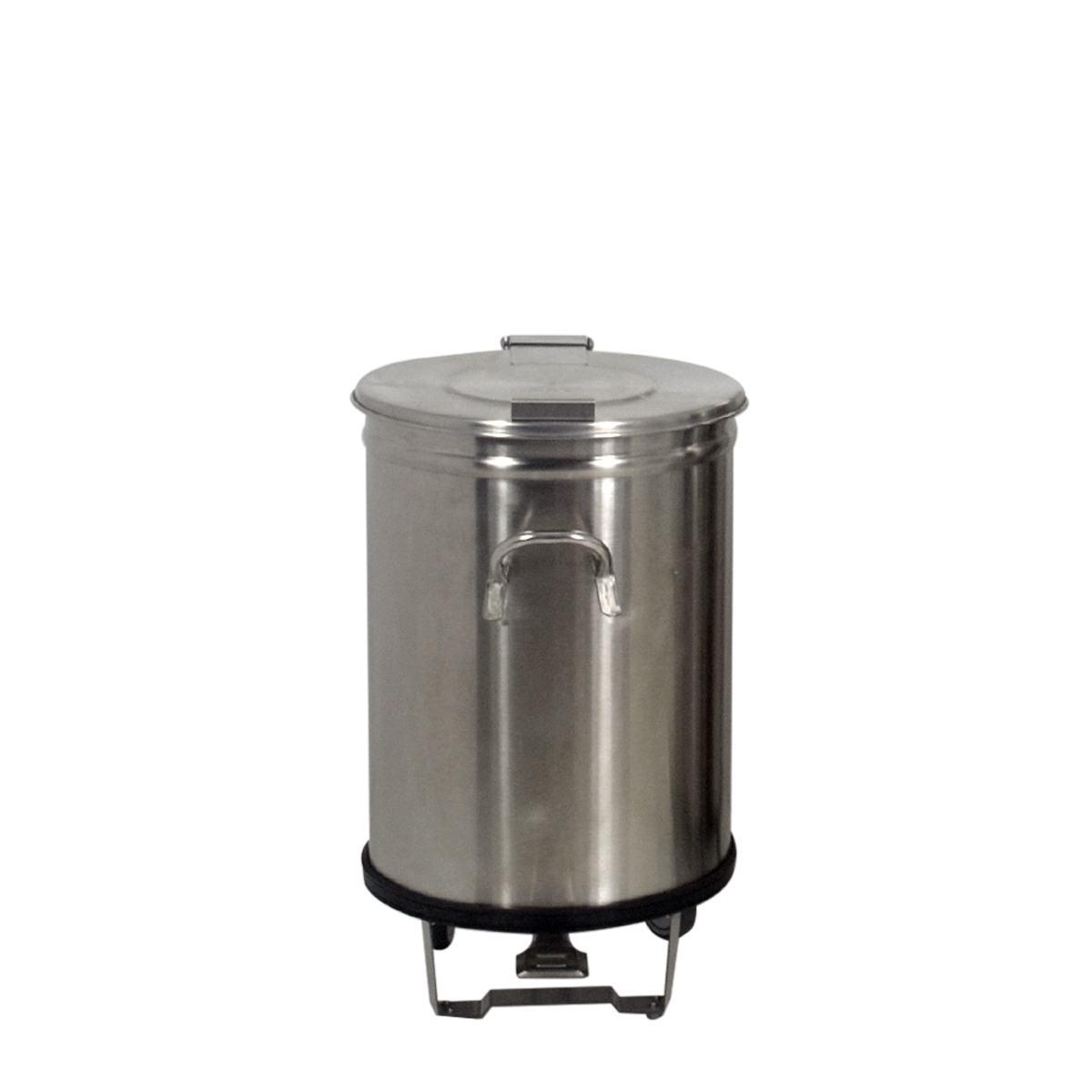 Lixeira de Inox com Pedal 50 Litros FrigoPro