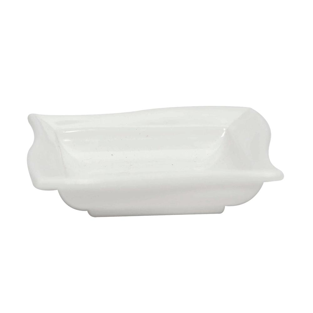 Molheira Moove Pequena 35 ml de Polipropileno Branca Vemplast