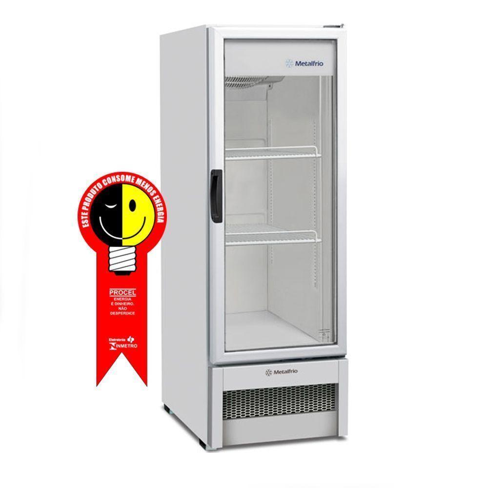 Refrigerador Metalfrio Vertical 276 Litros Porta de Vidro 220V - VB25RB
