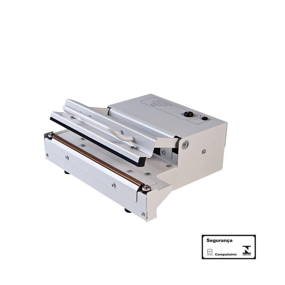 Seladora Manual de Plástico de 22 cm e Temporizador Corte e Solda H22C Barbi