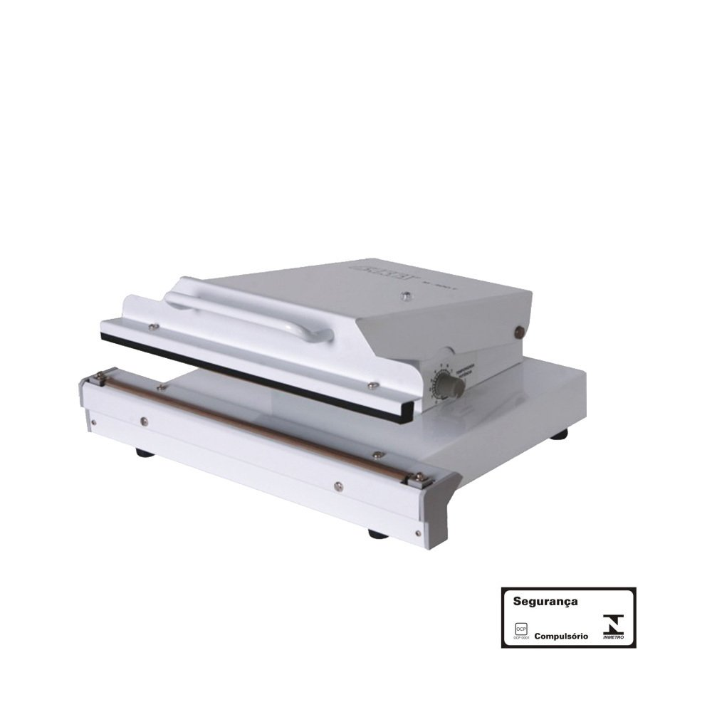 Seladora Manual de Plástico de 30 cm e Temporizador Corte e Solda M300TC Barbi