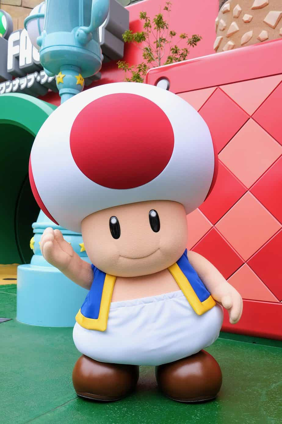 Toad Character Greeting