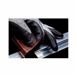 3M™ CGXL-CR Comfort Grip Medium Duty Cut Resistant Gloves, XL/SZ 10, Foam Nitrile Coating, Nylon, Knit Wrist Cuff, Resists: Abrasion, Cut, Puncture and Tear, ANSI Cut-Resistance Level: A3, Right Hand