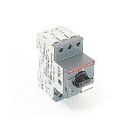 ABBMS116-2.5 3P MMP 1.6-2.5A RANGE;ABB MS116-2.5 Manual Motor Starter, On/Off Action, 3 Poles, IP20 Enclosure