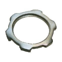 Arlington 404 Threaded Conduit Locknut, 1-1/4 in, For Use With IMC/Rigid Conduit, Steel, Plated