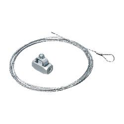 Arlington Wire Grabber™ DWB0805 Straight Wire Grabber Kit With Looped End, Silver