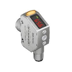 Banner Engineering Q4XTBLAF300-Q8 Distance Sensor, Rectangular Shape, 25 to 300 mm, Red Laser Sensing Beam, 1.5 ms Response, Bi-Polar NPN/PNP Output