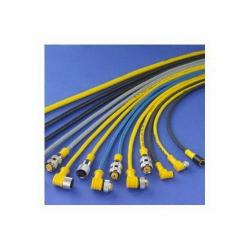 Banner Engineering PKG4-2 Pico Style Unshielded Quick Disconnect Cable, 125 VAC/VDC, (4) 26 AWG Conductor, 2 m L