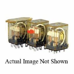 IDEC RH2B-ULCAC110-120V RH Series Compact Power Relay With Indicator LED, 10 A, DPDT Contact, 110 to 120 VAC V Coil