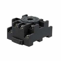 IDEC SR3P-05 SR Series Standard Timer Socket With Captive Wire Clamp, 300 VAC, 10 A, For Use With RR3PA, GT3 Timer, 11 Pin, 3 Poles