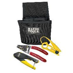 Klein® VDV012-811 Coax Installer Starter Kit, 5 Pieces