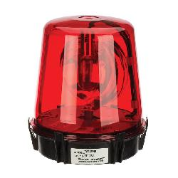 NSI TORKALERT™ TA52RN5 Compact Rotating Beacon, 117 VAC, 5-5/8 in Dia, Threaded Mount, Red