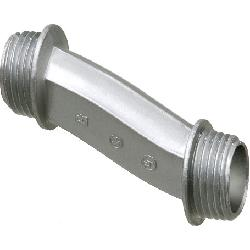 Arlington 6A3 Offset Conduit Nipple With 3/4 in Offset, 3/4 in, For Use With Rigid and IMC Conduit, Die Cast Zinc