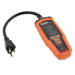 Klein® RT310 AFCI/GFCI Outlet Tester, 120 VAC, CAT III 135V