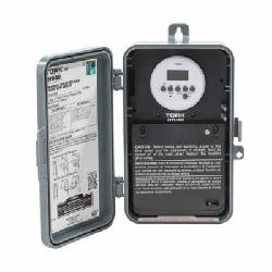 NSI Tork® DTU40 Automatic Voltage Detection Time Switch, 120/208/240/277 VAC, 1/4 to 1 hp, 1/2 to 2 hp, DPDT Contact, 2 Poles