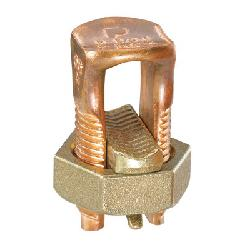 Panduit® Pan-Lug™ SBC750-1 Mechanical Split Bolt Connector, 350 to 750 kcmil Solid Conductor, Copper Alloy