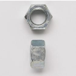 Peco 12FHNUSSZJ Hex Nut, Imperial, 1/2-13, Carbon Steel, Zinc Plated;PECO 12FHNUSSZJ 1/2-13 FINISHED HEX