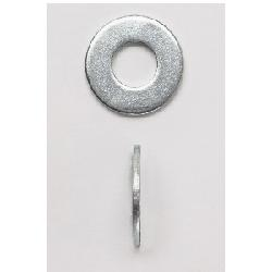 Peco 14X1FWZJ Fender Washer, 1/4 in, 9/32 in ID x 1 in OD, 0.051 to 0.08 in THK;PECO 14X1FWZJ 1/4X1 FENDER WASHER Z