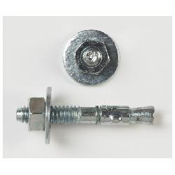Peco Power-Stud+® SD1 6414J Wedge Expansion Anchor, 3/8 in Dia, Carbon Steel;PECO 6414J 3/8X3-3/4 WEDGE ANCHOR Z