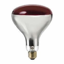 PHL250R40/HR120V4/1TP (415836) 250R40/HR 120V 4/1 TP RED LAMP *********;Philips 415836 Incandescent Lamp, 250 W, E26 Medium Incandescent Lamp, R-40 Shape