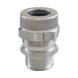 Remke Tuff-Seal™ RSR-6729 Form Size 7 Straight Cord Grip Connector, 2 in Trade, 1.688 to 1.812 in Cable Openings, Aluminum