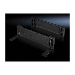 Rittal 8602800 Front/Rear Base/Plinth Component, 7.9 in H, For Use With TS, SE, CM, TP, PC, IW, TS IT Series 31 in D Enclosure, Carbon Steel, Umbra Gray