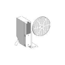 Square D™ OsiSense® XULM06031 XU Series Compact Photo Electric Sensor, 29.53 ft, Through Beam Sensing Beam, <=25 ms Response, Solid State Output