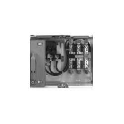 Square D™ 8998KZ410 3-Pole Fusible Switch Branch Feeder, 600 VAC, 200 A