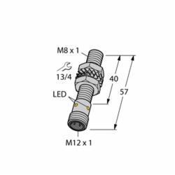 TUR4600540 (S4600540) BI1.5U-EG08-AP6X-H1341 TURCK BI1.5U-EG08-AP6X-H1341;Turck BI1.5U-EG08-AP6X-H1341 Inductive Sensor, 10/30 VDC, PNP Output, 1NO