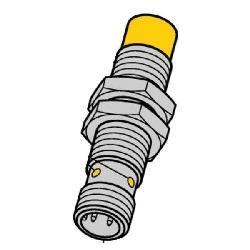 TUR1644140 (M1644140) NI8U-M12-AP6X-H1141 INDUCTIVE PROX. SENSOR;Turck NI8U-M12-AP6X-H1141 Inductive Sensor, PNP Output, 1NO Contact, 10/30 VDC