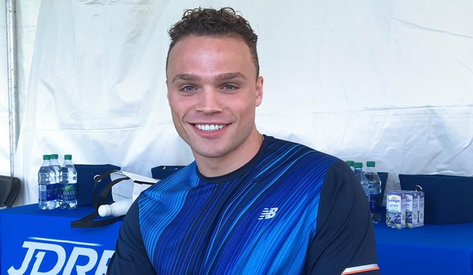 Max Domi smiling