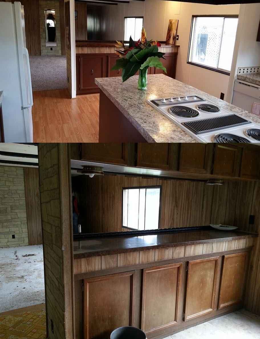 1970 Kitchen Cabinets Makeover